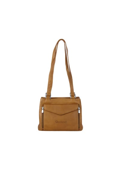 Double Compartment Shoulder Bag