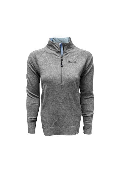 Women's Cable Knit Quarter Zip
